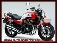 HONDA CB-750 SEVEN FIFTY RC42 1992-2003